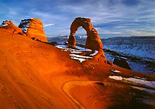 Arches National Park.  ( )