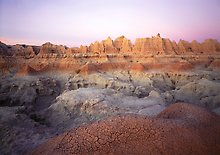 Badlands National Park.  ( )