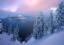 Crater Lake National Park.  ( )