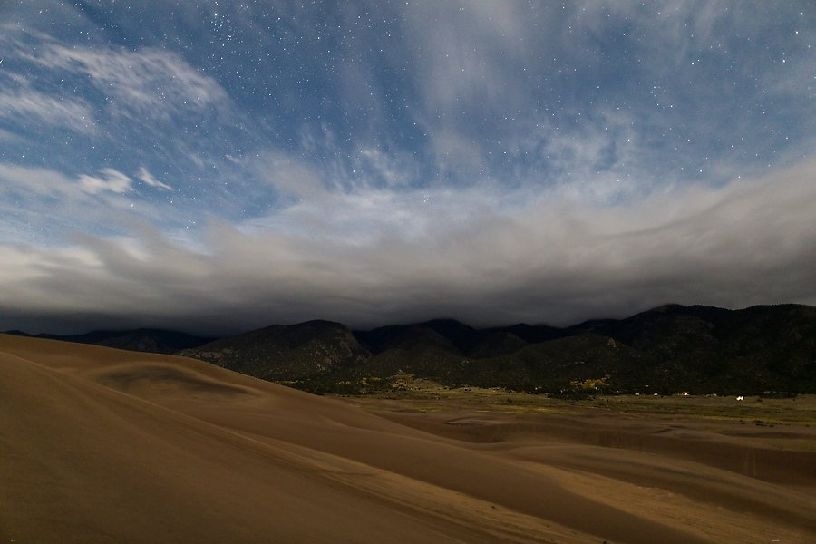 Great Sand Dunes National Park.  ()