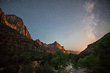 Zion National Park.  ( )