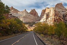 Fremont River Canyon, Capitol Reef National Park.  ( )