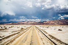 West Side Road. Death Valley National Park.  ( )