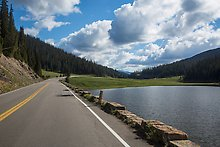 Trail Ridge Road, Rocky Mountain National Park.  ( )