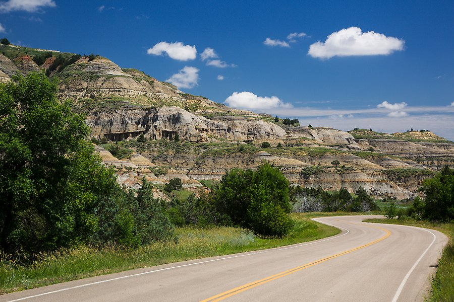 North Unit, Theodore Roosevelt National Park.  ()