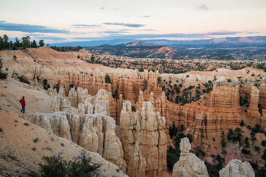 Fairyland Point. Bryce Canyon National Park.  ()