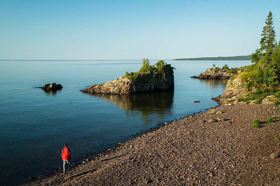 Mott Island. Isle Royale National Park.  ()