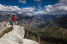 Lookout Peak. Kings Canyon National Park.  ( )