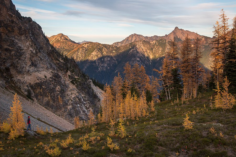 Easy Pass, North Cascades National Park.  ()