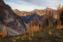 Easy Pass, North Cascades National Park.  ( )