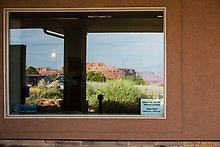 Canyons, Island in the Sky Visitor Center. Canyonlands National Park.  ( )
