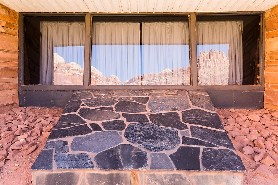 The Castle, Visitor Center. Capitol Reef National Park.  ()